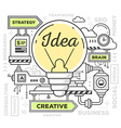 creative professional mechanism to make i vector image