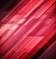 Abstract technology futuristic lines background vector image