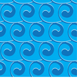 seamless light blue background with blue swirls vector image