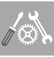 Tuning Service Icon vector image
