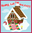Holiday Home vector image