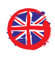 England circle flag vector image