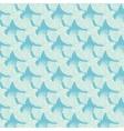 Blue Flying Birds Diagonal Texture Seamless vector image vector image