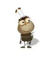 funny bug cartoon vector image