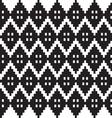 monochrome elegant seamless patterns vector image