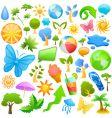 summer design element vector image vector image