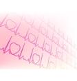 Eectrocardiogram waveform EKG test EPS 8 vector image vector image