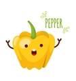 a Pepper Character vector image