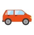 car auto front icon vector image
