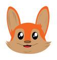 Avatar of fox vector image