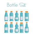 bottles light1 resize vector image vector image