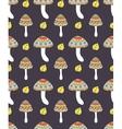 abstract mushrooms vector image