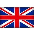 british union jack flag vector image