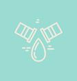 modern plumbing logo vector image