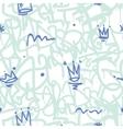 Graffiti Seamless Patten vector image