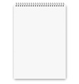 Notebook a3 size vector image