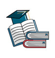 notebook school tools icon vector image