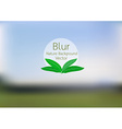 blurred of Nature background vector image