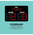 Scoreboard Sport vector image