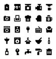Home Appliances Icons 2 vector image