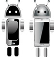 cell robots vector image