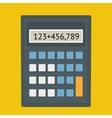 Calculator fla vector image vector image