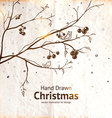 Hand Drawn Christmas Design vector image