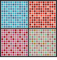 Set Of Mosaic Background vector image