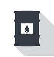 Barrel of oil vector image
