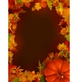 thanksgiving day background EPS 8 vector image