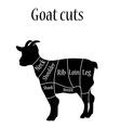 Butcher chart vector image