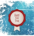 White Merry Christmas Banner with red Ribbon vector image vector image