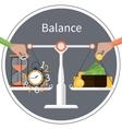 Time is money Management concept vector image