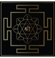 Yantra Goddess Lakshmi vector image