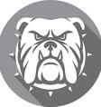 Bulldog Icon vector image vector image