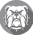 Bulldog Icon vector image
