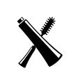 mascara icon vector image