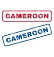 Cameroon Rubber Stamps vector image