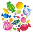 Colorful sweets Vector Image