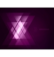 Elegant Geometric Purple Background vector image