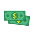 Flat money vector image