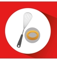 bakery food icon vector image