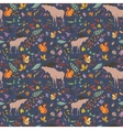 Fall Sketch Pattern vector image vector image