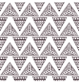 seamless pattern in the style of boho vector image