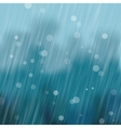 Rain Background vector image vector image