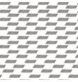 Abstract geometric fashion design print vector image