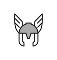 comic superhero mask vector image