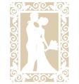 wedding laser cut vector image