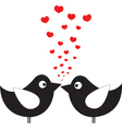 birds in love vector image vector image