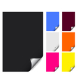 papers icon vector image vector image